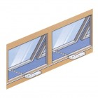 CLEARLINE MANUALLY OPERATED WINDOWS - TOP HINGED